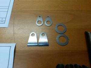 25CrMo4-Blechteile für Pedalerie.